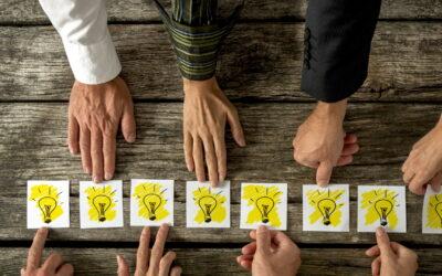 Het belang van creativiteit en het genereren van nieuwe ideeën binnen organisaties voor innovatie